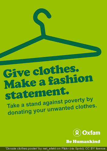 Five quick tricks for designing better flyers the visual for Shirts that donate to charity