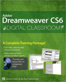 Dreamweaver CS6 Digital Classroom book cover