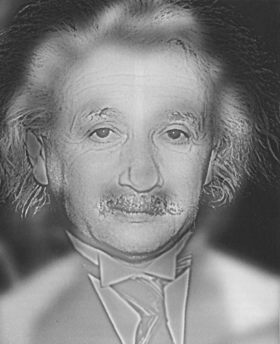 Einstein Monroe Hybrid Image Optical Illusion