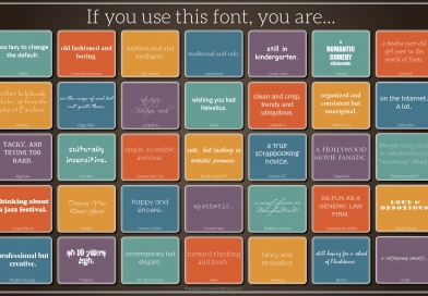 What Does Your Font Choice Say about You (and your document)?