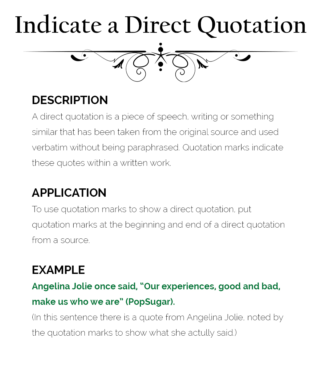 How to Use Quotation Marks – The Visual Communication Guy ...