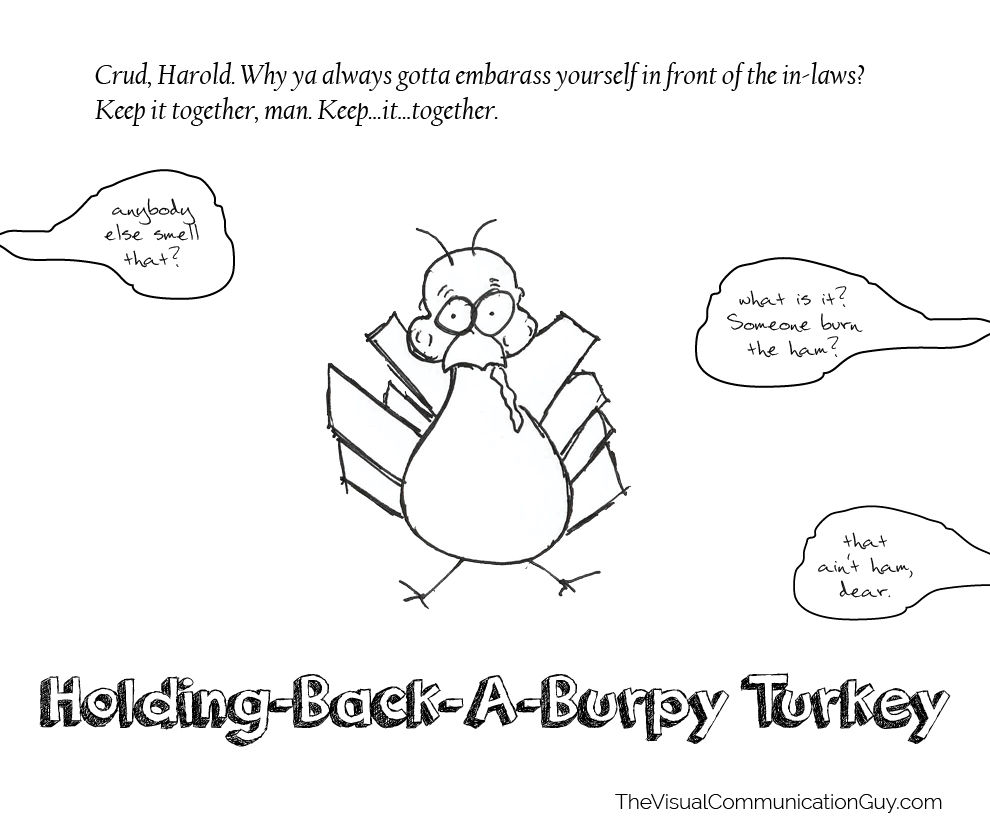 holding-back-a-burpy-turkey