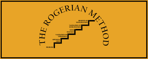 how to organize a paper the rogerian method the visual  the rogerian method