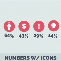 Numbers-With-Icons-Data-Visualization