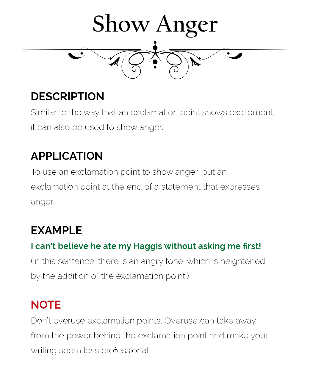 how to use exclamation marks  u2013 the visual communication guy  designing information to engage