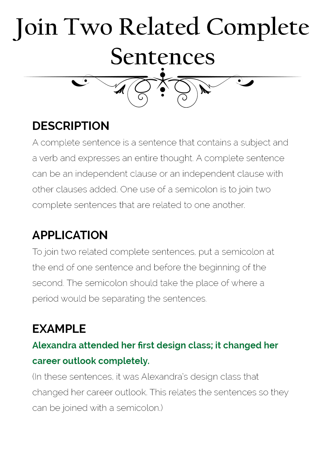 how to use semicolons  u2013 the visual communication guy