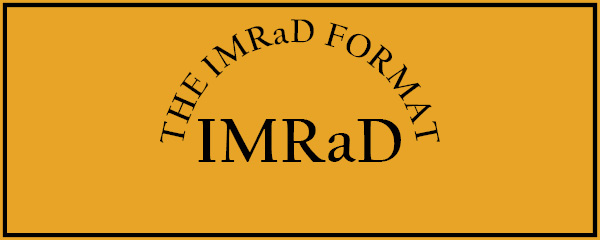 how to organize a paper  the imrad format  u2013 the visual