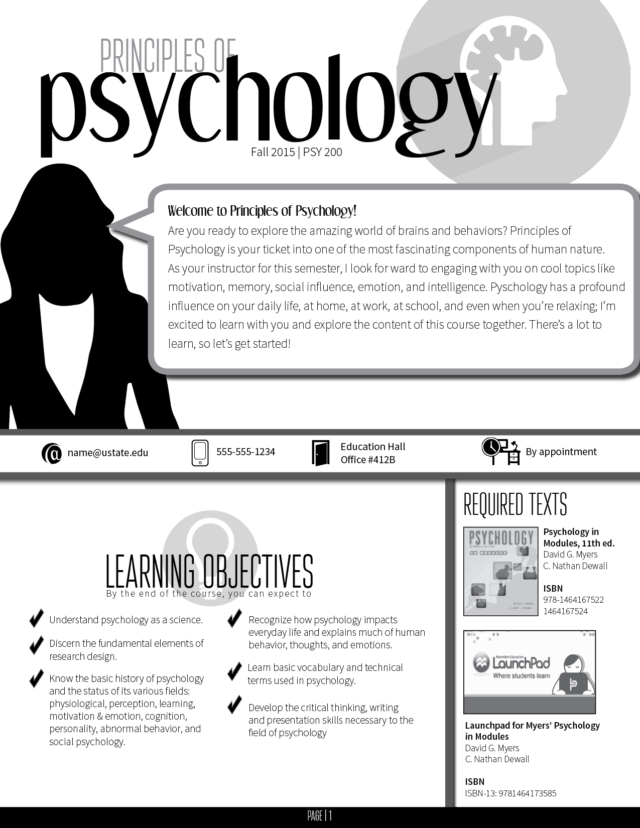 How to Turn Your Syllabus into an Infographic – The Visual