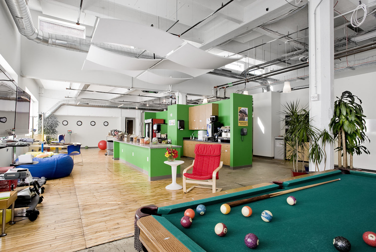 Office Recreation Room Ideas from thevisualcommunicationguy.com