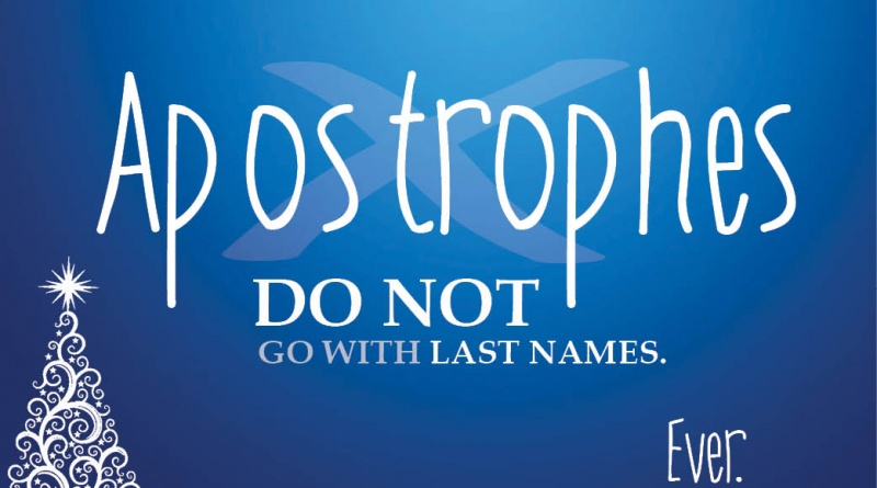 do you put an apostrophe s after a last name لم يسبق له مثيل الصور ...