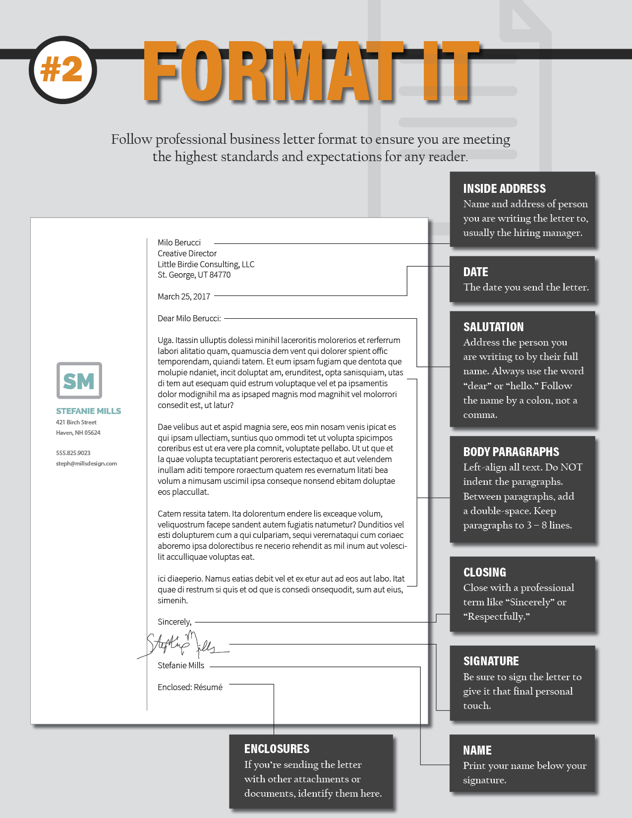Cover Letter Double Space from thevisualcommunicationguy.com